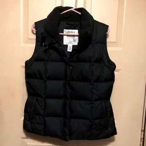 Eddie Bauer Women's Black Down Vest